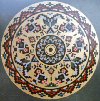 093a - Circle XXIV - Zdanice - Balcan popular art [60x60]
